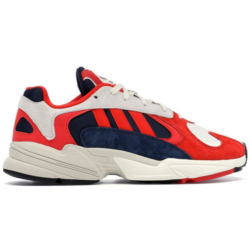 Adidas Originals Yung-1 White / Red / Blue / Multicolor
