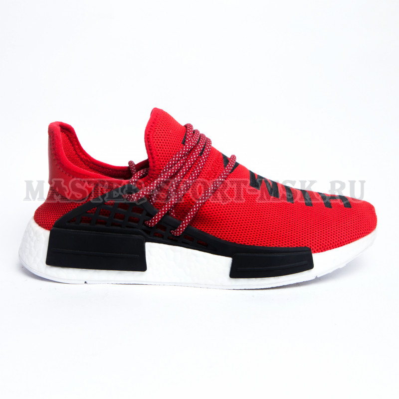 Кроссовки Adidas Originals NMD Human Race Clear Granite Red
