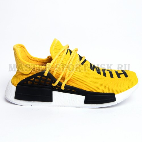 Кроссовки Adidas Originals NMD Human Race Yellow Trace  Diamond