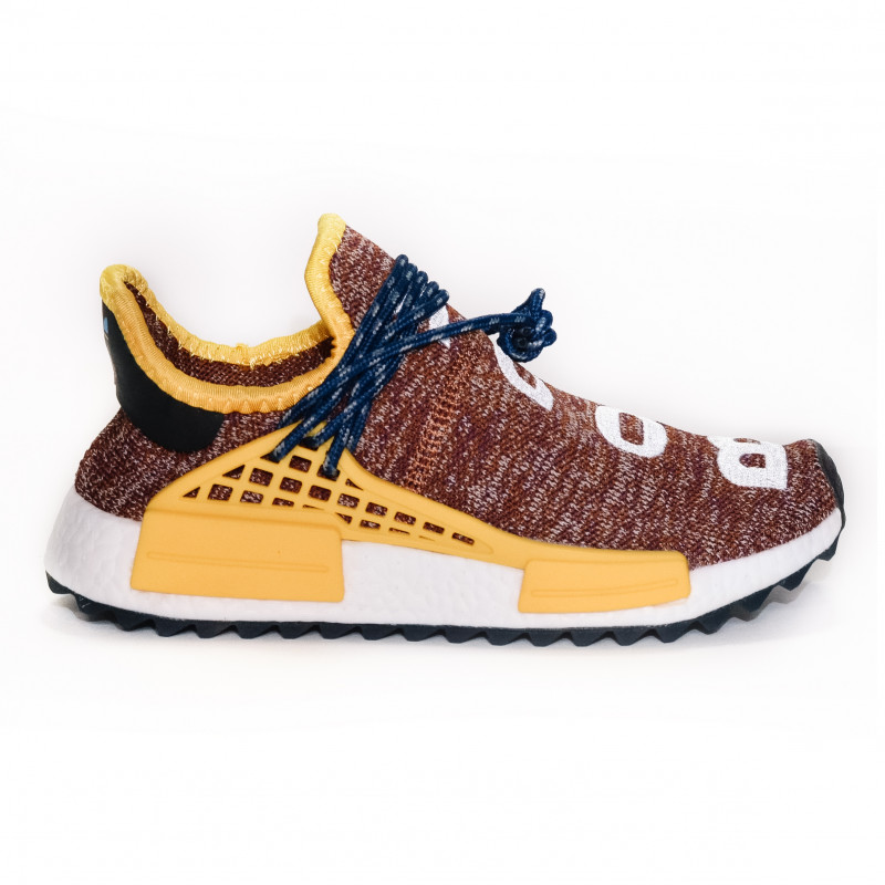 Adidas Originals Human PW x CC NMD Brown Yellow