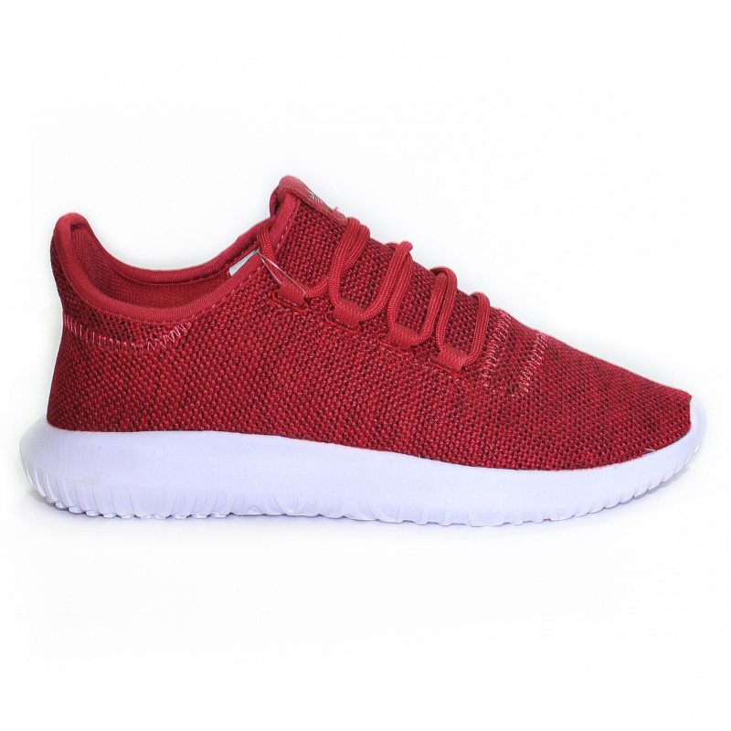 Adidas Originals Tubular Shadow Knit Dark Red