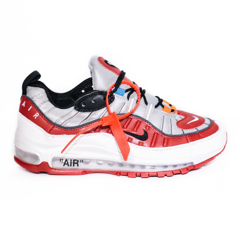 Nike Air Max Off White 98 White / Red / Black