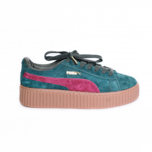 Puma Rihanna Creeper Fenty Green Red