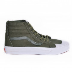 Off The Vans Sk8-Hi Dark Green
