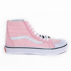 Off The Vans Sk8-Hi White White Pink