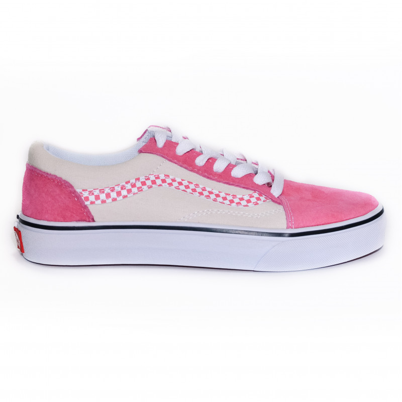 Vans Sidestripe Check ComfyCush Small Square Old Scool